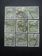 JAPON N°550 X 9 Oblitéré - Collections, Lots & Séries