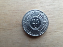 Antilles  Neerlandaises    25  Cents  2007  Km 35 - Netherland Antilles