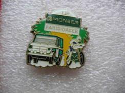 Pin's Du 11eme Paris-Dakar Autos Et Motos Sponsorisé Par PIONEER - Rallye