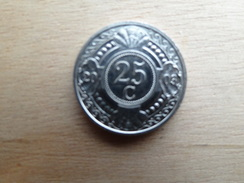 Antilles  Neerlandaises    25  Cents  2003  Km 35 - Netherland Antilles