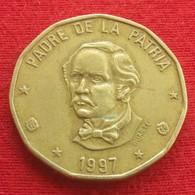 Dominicana 1 Peso 1997 KM# 80.2 Dominican Republic - Dominicana