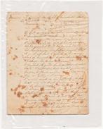 LETTRE ANNONCANT LA MORT DU MARECHAL DE LANNES PAR LE PRINCE DE NEUCHATEL A LA DUCHESSE DE MONTEBELLO A ESSLING 1809 - Documents Historiques
