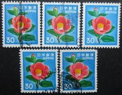 JAPON N°1343 X 6 Oblitéré - Japon