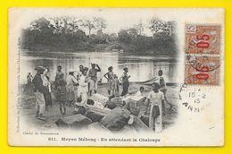 Moyen Mékong En Attendant La Chaloupe (Union Commerciale Desmaisons) Laos - Laos