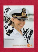 Lara - Isabelle Rentinck (deutsche Schauspielerin )  -  Persönlich Signiertes Originalautogramm - Autografi