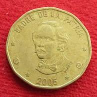 Dominicana 1 Peso 2005 KM# 80.2 Dominican Republic - Dominicana