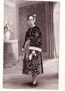 CPA Carte Photo Guemene Sur Scorff Par Le Lamer Portrait Femme Costume Breton - Guemene Sur Scorff