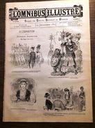 1885 OMNIBUS ILLUSTRE EXPOSITION ANVERS PROMENADE HUMORISTIQUE DE STOP - Other Magazines