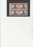 VIGNETTES BLOC DE 4  -EXPOSITION INTERNATIONALE LYON 1ER MAI 1914 - Commemorative Labels