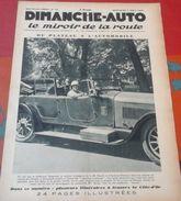 Dimanche Auto N°78 4 Août 1929 Dijon La Côte D'Or Autun La Brenne,Elegance Automobile Au Touquet Paris Plage - Auto