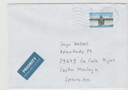 BRD1019 / Brief,  Mit Markw Möhntalsperre (2013), 10 Jahre, 2017 - BRD
