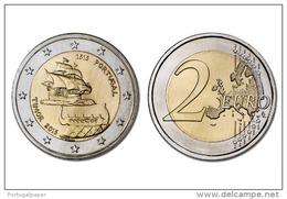 2 EURO CC  PORTUGAL 2015  ( 500 ANOS DO PRIMEIRO CONTATO COM TIMOR )   UNC - Portugal