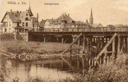 CPA - KEHL (Allemagne-Bade-Wurtemberg) - Kinzigbrücke In 1919 - Kehl