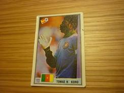 Thomas N'Kono Cameroon Cameroonian Espanol Football Footballer Spain World Cup 1982 Greek Ntogiakos '80s Game Card - Sports