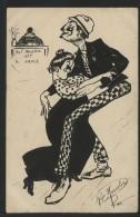MARCELIN Roger - BAL MUSETTE - La Danse - 1915 - Otros Ilustradores