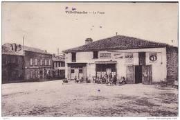 VILLEFRANCHE    -   La Place - Villefranche D'Albigeois