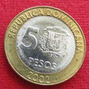 Dominicana 5 Pesos 2002 KM# 89 Dominican Republic - Dominicana