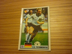 Karl-Heinz Rummenigge German Bayern Munich Inter Football Footballer Spain World Cup 1982 Greek Ntogiakos '80s Game Card - Sports
