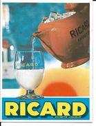 Vends MAGNIFIQUE Autocollant  Publicité RICARD  Pichet Et Verre Année 60 Pas Pernod  Pas CASANIS  Pas Berger Pas Casanis - Stickers