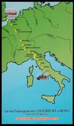 La Via Francigena Da Canterbury A Roma (Itinerario Di Sigerico) - 2 Luglio / 28 Agosto 1996 - Cartes Postales