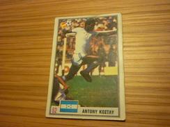 Anthony Costly Honduras Honduran Real Espana Malaga Football Footballer Spain World Cup 1982 Greek Ntogiakos '80s Card - Sports