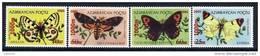 AZERBAIJAN 2005 1000m Surcharges On Butterflies MNH / ** - Azerbaïjan