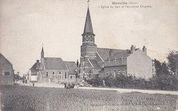 MERVILLE L Eglise Du Sart Et L Ancienne Chapelle - Merville