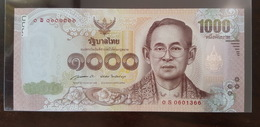 Thailand Banknote 1000 Baht Series 16 P#127 SIGN#85 - 0Sพ Replacement UNC - Thailand