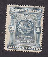 Costa Rica, Scott #40, Mint No Gum, Coat Of Arms, Issued 1892 - Costa Rica
