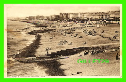 HOVE, SUSSEX, UK - THE BEACH & BRUNSWICK TERRACE - ANIMATED - - Angleterre