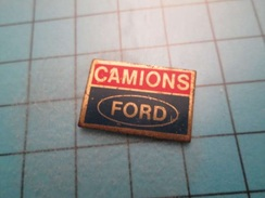 Pin413e Pin's Pins / Rare CAMIONS FORD , Belle Qualité !!! - Ford