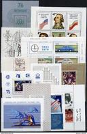 POLAND 1976-81 Range Of Blocks  MNH / **.  Michel Block 61, 63, 65-67, 73, 75, 78, 81, 82, 84, 85 - Blocks & Sheetlets & Panes