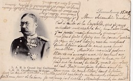 S.A.R. Le Grand Duc Guillaume. Carte RARE - Grand-Ducal Family