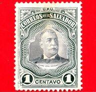 Nuovo - EL SALVADOR - 1906 - 1906 - Presidente Pedro José Escalon (1847-1923) - 1 - El Salvador