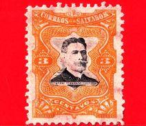 EL SALVADOR - Nuovo - 1910 - Generale Fernando Figueroa (1849-1919) - 3 - El Salvador