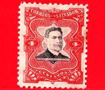 EL SALVADOR - Nuovo - 1910 - Generale Fernando Figueroa (1849-1919) - 4 - El Salvador