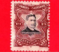 EL SALVADOR - Nuovo - 1910 - Generale Fernando Figueroa (1849-1919) - 19 - El Salvador