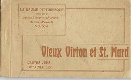VIEUX VIRTON ET ST. MARD    CARNET COMPLET  10 CARTES - Virton