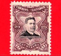 EL SALVADOR - Nuovo - 1910 - Generale Fernando Figueroa (1849-1919) - 29 - El Salvador