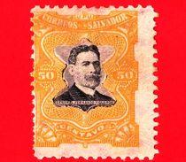 EL SALVADOR - Nuovo - 1910 - Generale Fernando Figueroa (1849-1919) - 50 - El Salvador
