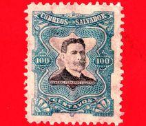EL SALVADOR - Nuovo - 1910 - Generale Fernando Figueroa (1849-1919) - 100 - El Salvador