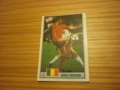 Michel Renquin Belgium Standard Liege RSC Anderlecht Football Footballer Spain World Cup 1982 Greek Ntogiakos 80s Card - Sports