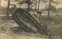 Carte Photo D'un Char FT 17 1914-1918 - 1914-18