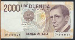 °°° ITALIA - 2000 LIRE G. MARCONI 06/03/1992 SERIE DB °°° - [ 2] 1946-… : République