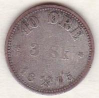 Norway, 10 Ore (3 Skilling) 1875 , Oscar II ,  KM# 345 - Norvège