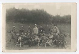 Carte Photo De Mitrailleurs Du 32°RI 1914  1914-1918 - 1914-18