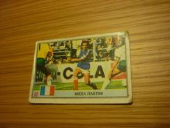 Michel Platini France French Juventus Football Footballer Spain World Cup 1982 Greece Greek Ntogiakos '80s Game Card - Sports