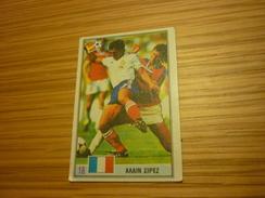 Alain Giresse Football Footballer French Bordeaux Marseille Spain World Cup 1982 Greece Greek Ntogiakos '80s Game Card - Sports
