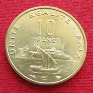 Djibouti 10 Francs 1999 Djibuti Unc - Djibouti