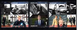 Nederland 2017 Nvph Nr 3535 A Tm F, Mi Nr 3594 - 3599, Koning Willem-Alexander 50 Jaar Gestempeld - Usati